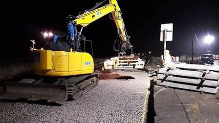 Vital upgrades have been completed on Cambridgeshire's railway over the Christmas break. Picture: NE