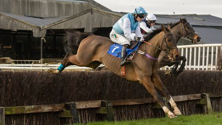 Gina Andrews nearest camera on Hawkhurst winners of the opening race. Picture: GRAHAM BISHOP