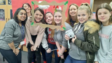 Ely College students organise their second 'Charities Day' and smash last year's fundraising. Pictur