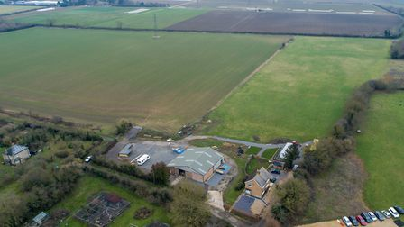 Manor Farm, Girton, which has been let by the Cambridgeshire County Council farms estate to the depu