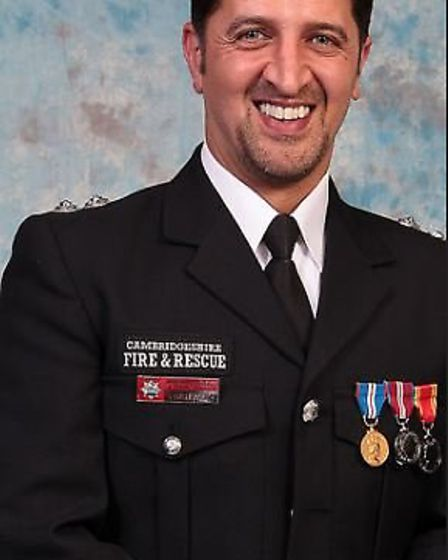 Station Commander Farsh Raoufi has been awarded an MBE by Her Majesty The Queen for his services to