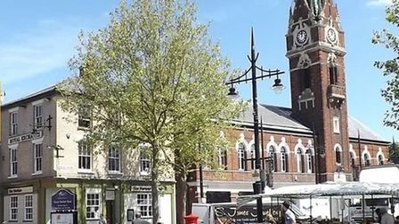 Market Place, as seen through the lens of the VisitFenland tourism website. https://www.visitcambrid