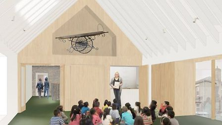 This is what the education centre of Ely Museum could look like. PHOTO: HAT Projects.