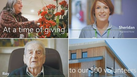 Some stills from the film produced for Arthur Rank Hospice by Mill River TV, who donated their time