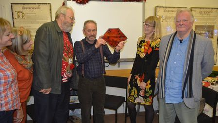 Entertainer John Crowe retires from Ely Museum after 13 years. Picture: MIKE ROUSE