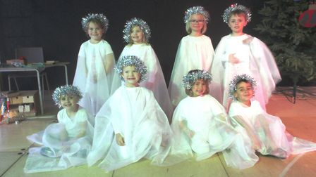 Rodings angels in their play called Baubles