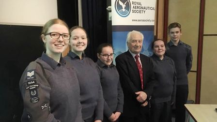 Ely's RAF air cadets learnt about the Cold War at The Royal Aeronautical Society lecture in Cambridg