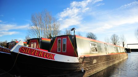 More than £1,700 has been raised to buy defibrillators for March town centre by Fox Narrowboats. Pic