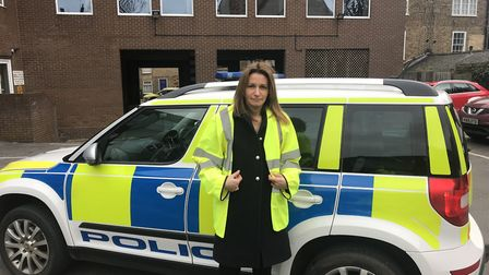 MP Lucy Frazer went out and about with Cambridgeshire Police to see what policing at the front line
