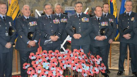 A poignant service was held at Ely Cathedral to commemorate the 80th anniversary of the Battle of He