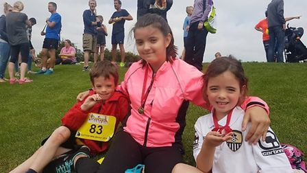 Some of those who laced up their running boots to take part in the Sutton Beast last year.