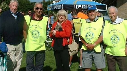 Members of the Rotary Club of Ely