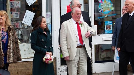 Fenland Deputy Mayor of March marries younger bride in hush hush register marriage. Pictured Deputy