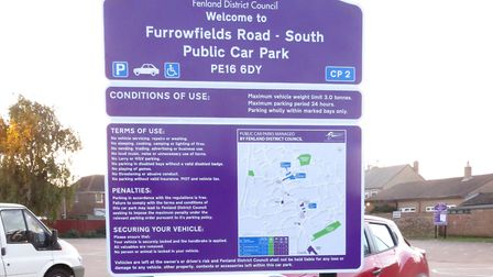Works carried out at Furrowfield Road car park to crack down on 'boy racers' and anti-social behavio