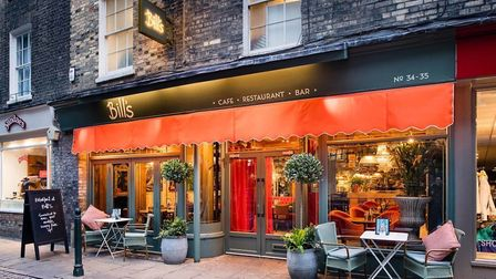 Cosy atmosphere and top-notch food at Bill's Cambridge. Picture: BILL'S CAMBRIDGE.