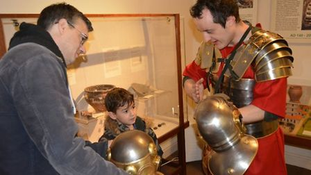 Romans Day at Ely Museum in January 2018. Picture: MICHAEL ROUSE.