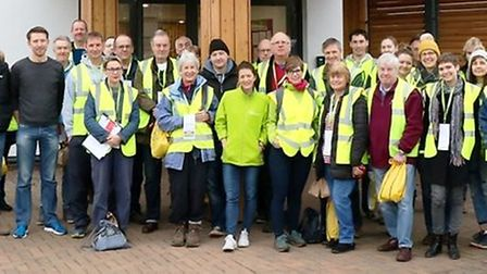 More than 100 volunteers gave up their time to help Arthur Rank Hospice Charity collect over 1,800 C