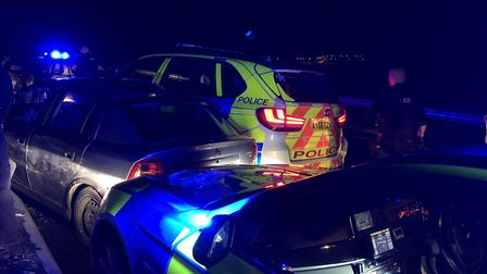 A busy night was had by the BCH Road Policing Unit after three pursuits all in one night. The cross-
