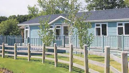 Some of the homes owned by Dream Lodges and taken from their recent brochures. The company is in adm