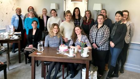 East Anglian Women In Business one year anniversary in Ely. Picture: EAWB