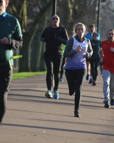 Fenland Running Club's Stacie Youngs