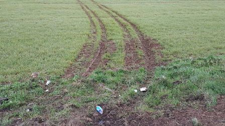 The Rural Crime Action Team attended two similar incidents in less than a week. One in Isleham (pict