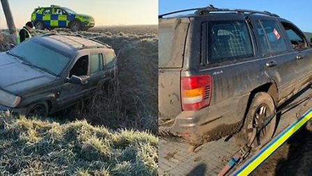 The Rural Crime Action Team attended two similar incidents in less than a week. One in Isleham and t