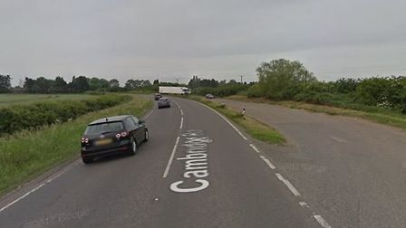 Five men were found in the back of a lorry on the A10 near Stetham, police have revealed. Picture: G