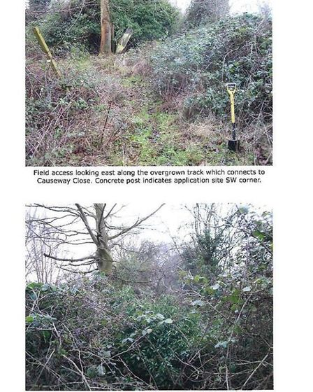 Some of the images put together by March Cricket Club in their bid to secure better drainage if a ne