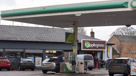 Two late night filling stations and a convenience store were targetted last night by armed robbers.