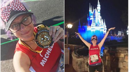 An avid Fenland runner turned the trip of a lifetime into a magical marathon experience at Disney Wo