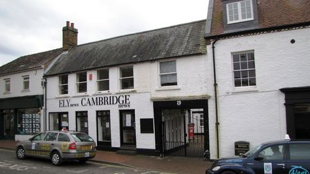 Newspaper offices sold in Ely and former Melrose Press office on the market. Picture: ROBINSON LAYER