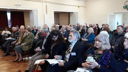 Local rural development charity, Cambridgeshire ACRE, hosted the national launch of Village Halls We
