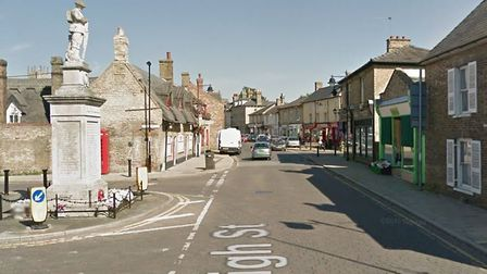 An underground electrical box caught fire and closed the High Street in Soham on Wednesday (January