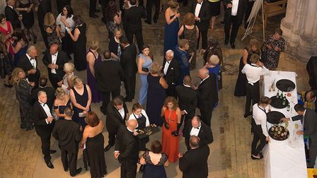 £12,000 was raised at the inaugural ball held by Mayor James Palmer. The £120 a head event was held