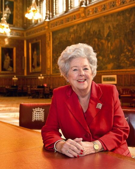 Baroness Betty Boothroyd - One hundred women are featured in the decade-long portrait project by Ani