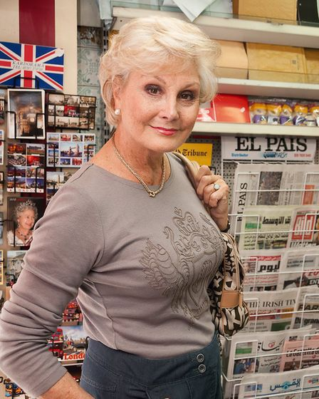 TV's Angela Rippon - One hundred women are featured in the decade-long portrait project by Anita Cor