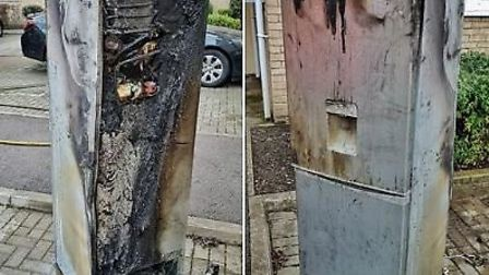 Crews attended a flat fire in Cambridgeshire that was caused by a fridge freezer over the weekend. C