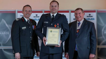 Long Service Medal: Scott Fretwell - Staff at the Cambridgeshire Fire and Rescue Service celebrated
