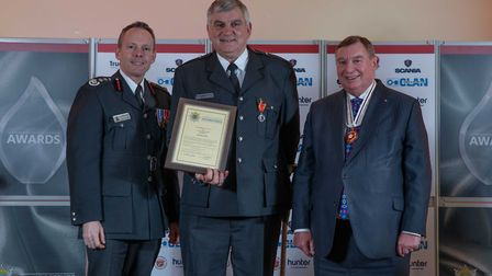 Long Service Medal: Anthony Estall - Staff at the Cambridgeshire Fire and Rescue Service celebrated
