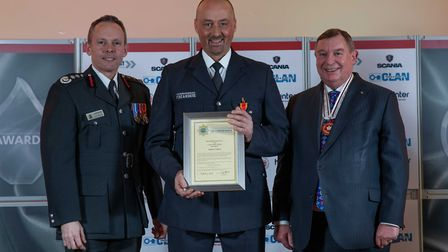 Long Service Medal: Andy Titmus - Staff at the Cambridgeshire Fire and Rescue Service celebrated at