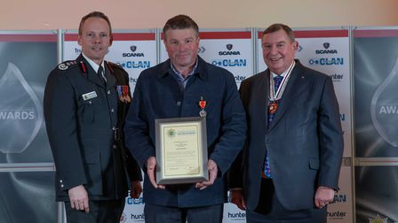 Long Service Medal: Adam Woodbine - Staff at the Cambridgeshire Fire and Rescue Service celebrated a