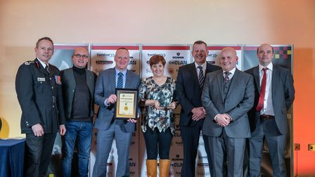 Excellence Award: Portable Misting System Team - Staff at the Cambridgeshire Fire and Rescue Service