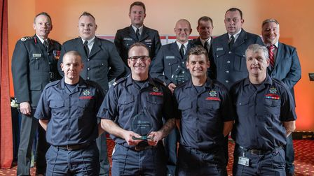 Excellence Award: Cambridge Black Watch and Cottenham on call crew - Staff at the Cambridgeshire Fir