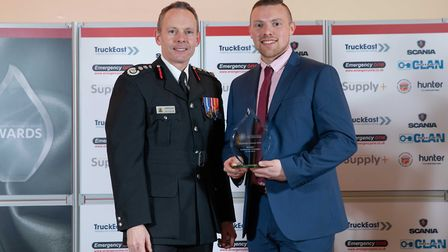 Community Champion of the Year: Ryan Berridge - Staff at the Cambridgeshire Fire and Rescue Service