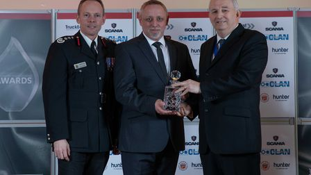Chairman's Award: Trevor White - Staff at the Cambridgeshire Fire and Rescue Service celebrated at t