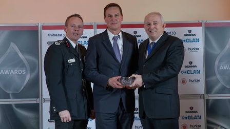 Chairman's Award: Mick Percival - Staff at the Cambridgeshire Fire and Rescue Service celebrated at