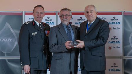 Chairman's Award: Mike Fishpoole - Staff at the Cambridgeshire Fire and Rescue Service celebrated at