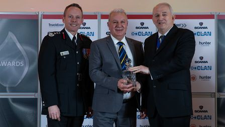 Chairman's Award: Danny Rust - Staff at the Cambridgeshire Fire and Rescue Service celebrated at the