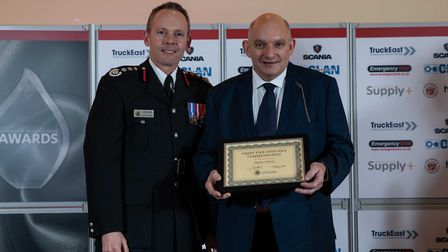 Certificate of Commendation: Rodney Cubberley - Staff at the Cambridgeshire Fire and Rescue Service